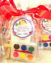 party favors best 25 party favors ideas on paint birthday