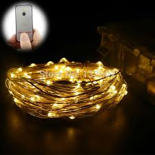 battery operated led string lights waterproof 33ft 20ft 8 modes waterproof battery operated led string lights