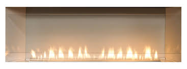 empire boulevard ventless linear gas fireplace u2013 60