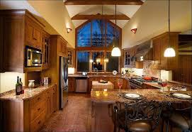 kitchen cherry wood color refacing cabinet doors flat kitchen