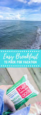 4 easy breakfasts to pack for family vacation love u0026 zest