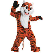 Halloween Mascot Costumes Tiger Plush Mascot Costume Mascots Team Mascot Costumes