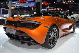 orange mclaren rear mclaren 720s rear quarter at bims 2017 indian autos blog