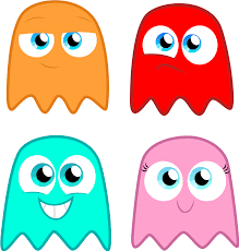 image result for pacman ghost graphic stuff i want to make