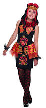 amazon com ever after high lizzie hearts costume child u0027s large