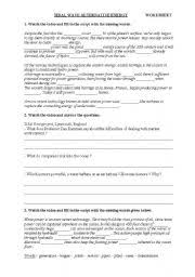 english teaching worksheets energy