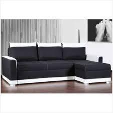 canap d angle cuir noir et blanc canapé d angle cuir noir pas cher obtenez une impression minimaliste