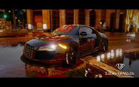 Audi R8 Limo - audi r8 libertywalk gta5 mods com