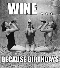 Birthday Wine Meme - how to make a meme wine label