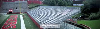 football seating rental football stadium bleachers