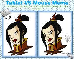 Meme Vs Meme - tablet vs mouse meme by niban destikim on deviantart