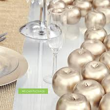 artificial gold apple gold wedding decoration gold home decoration
