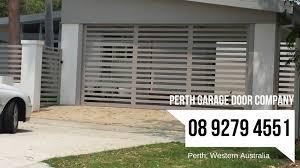 custom garage door yokine see thru sectional door garage doors