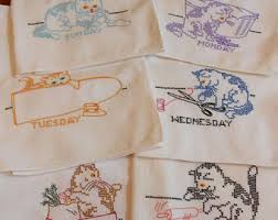 Kitchen Towel Embroidery Designs Towel Embroidery Etsy