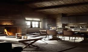 rustic modern style modern rustic interiors modern log cabin