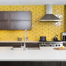 Kitchen Wall And Floor Tiles Design The 25 Best Yellow Tile Ideas On Pinterest Yellow Bath