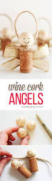 how to make wine cork angels wine cork angel ornaments