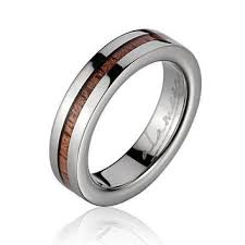womens titanium wedding bands best titanium wood wedding band products on wanelo