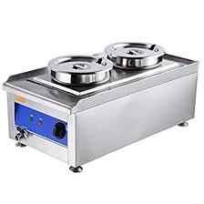 electric steam table countertop amazon com yescom 1200w commercial dual countertop steam table food
