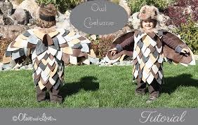 owl costume olive and simple owl costume tutorial happy owloween