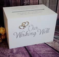wedding wishes box wedding reception wishing well home decor theme wedding