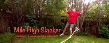 Backyard Slackline Without Trees Slackline A Frames U2014 No Trees Required Mile High Slacker