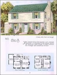 1945 national plan service garrison old house plans pinterest