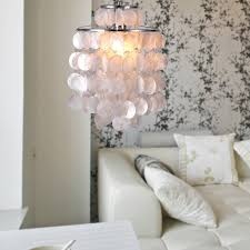 chandelier ideas capiz shell chandelier for home lighting ideas
