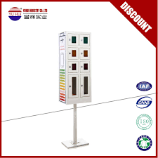 public use 8 door cell phone charging box henan yuhui industrial