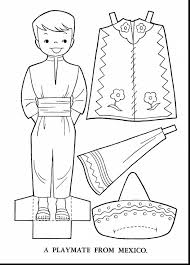 mexico coloring page outstanding traditional mexican coloring page with mexican