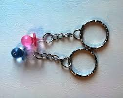 Baby Keychains Pacifier Keychain