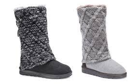 groupon s boots muk luks s mid calf boots groupon