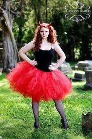 Halloween Costumes Devil Woman Tutu Devil Costume Red Tutu Woman Trendylittlecreation