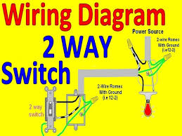 wiring diagrams single pole light switch wiring three way light