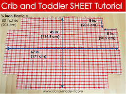 Mini Crib Sheet Tutorial Crib Toddler Bed Sheets Made Everyday