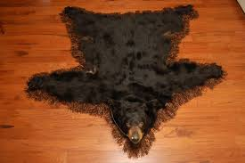 Bear Rug For Kids by Diamond Tooth Taxidermy