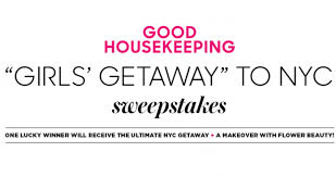 goodhousekeeping com housekeeping nyc beauty girls getaway sweepstakes