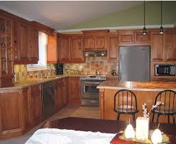 decoration de cuisine en bois decoration de cuisine en bois la avec lot central ides modele