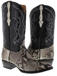 s country boots sale s genuine python snake skin cowboy boots