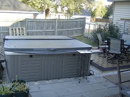 Backyard Spa Parts Exterior Design Outdoor Tubs Ideas With Pure Comfort From