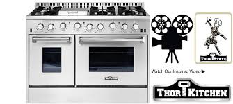Cooktops On Sale Thor Kitchen Stoves Professional Stainless Steel Ranges And Hoods