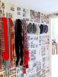 london home decor entry eclectic with quirky wallpaper vinyl
