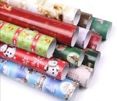 wholesale christmas wrapping paper wholesale 10pcs christmas wrapping paper christmas gift paper