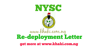 khaki how to write the standard nysc redeployment letter