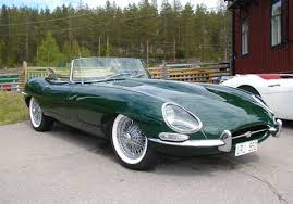 this will be my e type british racing green and convertible