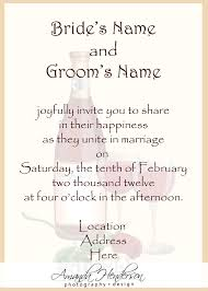 marriage invitation template wedding invitation letter template