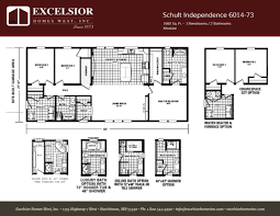 perfect floor plan schult independence 6028 18 excelsior homes west inc