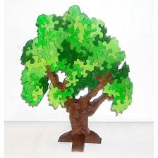 3d standing tree puzzles wooden tree and 3d