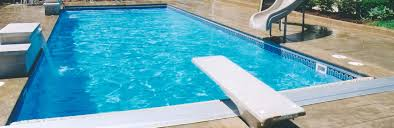 Inground Swimming Pool Fun and Features Inground Pool Slides