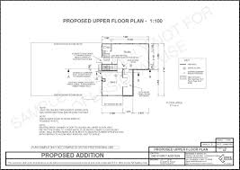 complete plan set u2013 second storey addition atop an existing